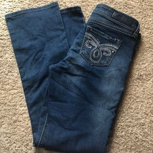 Seven 7. Slim boot cut denim jeans. 4